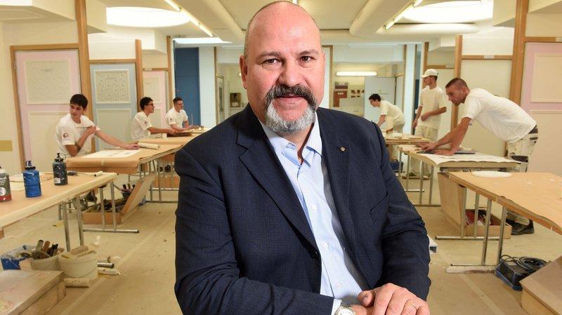 Claude Pottier, chef du service cantonal de la formation professionnelle, insiste sur le tremplin offert par un apprentissage.