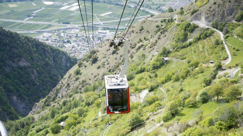 Découvrez les sept projets de liaison entre la plaine et la montagne du Valais romand