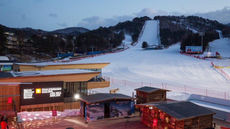 JO 2018: la Maison suisse ouvre ses portes à PyeongChang