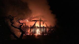 Quinze vaches sauvées des flammes à Nendaz