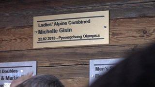 Grosse fête à la Maison suisse pour le trio de médaillés suisses à Pyeongchang