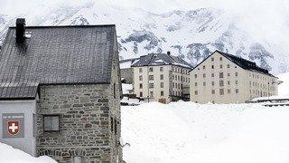 -34° à l'Hospice du Grand-Saint-Bernard