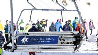 Le redémarrage du ski se fait sentir dans les stations valaisannes