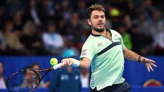 Tennis: les matches de Stan Wawrinka à Marseille seront diffusés en direct sur sa page Facebook