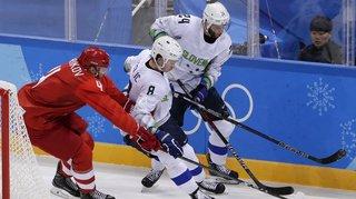 LIVE JO 2018 - hockey sur glace: un Slovène pincé pour dopage