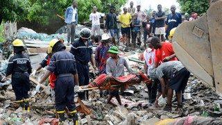 Mozambique: au moins 17 morts dans l'effondrement d'une décharge