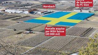 Le 10e magasin suisse d'IKEA sortira de terre en Valais