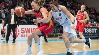 Qualifications Euro dames: la Suisse éliminée