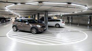 Le parking souterrain gratuit jusqu'à l'été