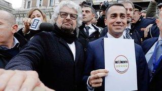 Le Mouvement 5 étoiles en premier parti d'Italie?