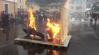 Bovernier: Les Brandons réchauffent le village