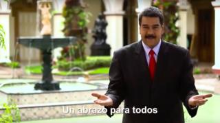 Venezuela: Nicolas Maduro fait campagne en langue des signes