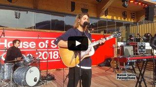 Ces Valaisans aux JO 2018: Pat Burgener fait le show à la maison suisse de PyeongChang
