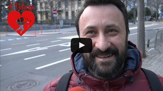 Saint-Valentin: les Valaisans fêtent-ils les amoureux ou non? Microtrott à Sion