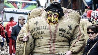 Carnaval: les figures d'Evolène tombent le masque