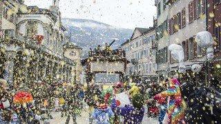 Carnaval: pas d'incidents majeurs à signaler en Valais