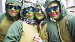 Carnaval de St-Maurice: le grand cortège