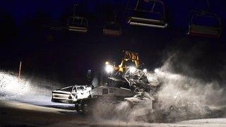 Valais: les dameuses des pistes de ski seront exonérées d'impôts