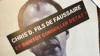 Affichage sauvage contre Darbellay: cadres de l'UDC sous enquête