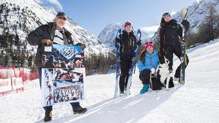 Les héroïnes de la nouvelle bande dessinée de Derib sur la Patrouille des Glaciers se lancent dans la course