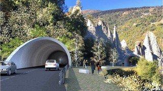 Euseigne: tunnel de déviation des pyramides mis à l'enquête