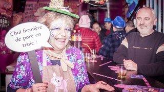 Nadine, gérante du Café de la Banque à Monthey, vit son ultime carnaval à la tête de ce lieu mythique
