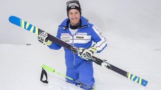 Ski: Luca Aerni peut-il refaire le coup des Mondiaux en combiné?
