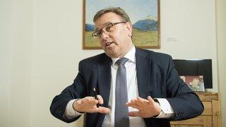 Roberto Schmidt: «Mon but est de stabiliser le nombre d'employés d'Etat»
