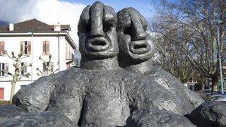 Martigny, cette ville aux dix-sept sculptures monumentales qui ornent les ronds-points
