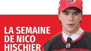 Hockey sur glace: la semaine du Valaisan Nico Hischier