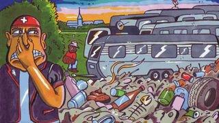 Dénonciation des nomades suisses contre un dessin des JeunesUDCBE