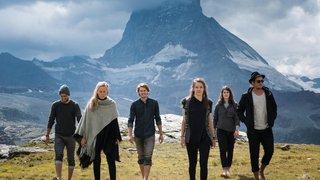 Wintershome, groupe pop-folk de Zermatt, illumine les Monte-charge Sessions