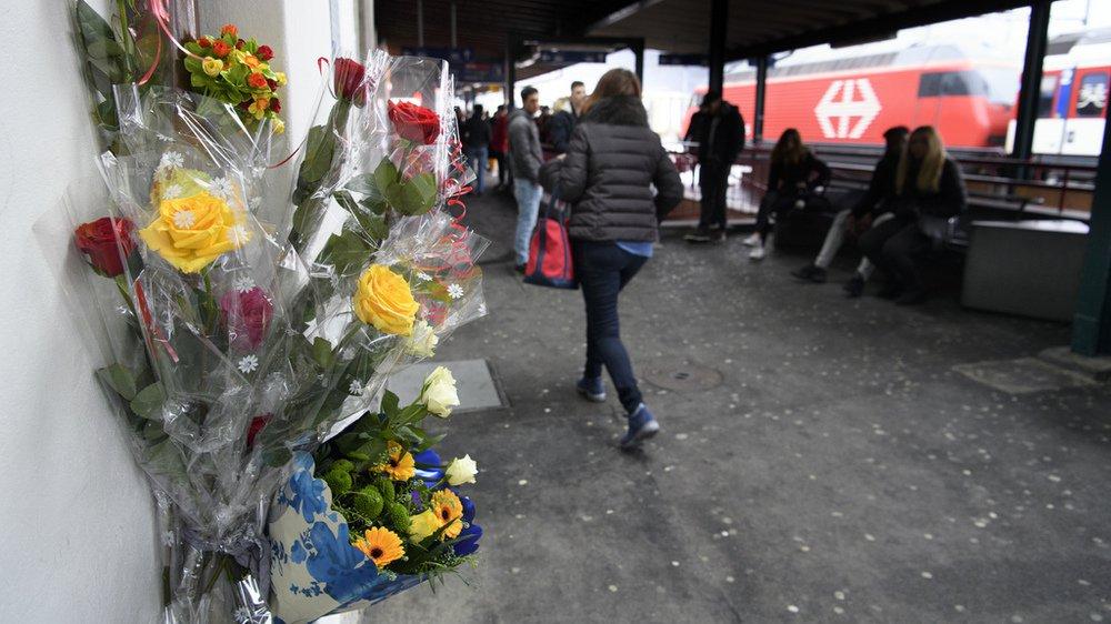 La gare de Martigny avait été le théâtre d'une altercation mortelle le vendredi 16 mars en début de soirée.