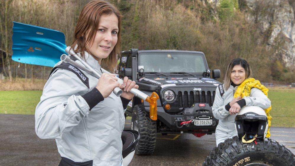 Mireille Vidueira Scheurer et Chloé Pirzkal quittent le Valais ce vendredi pour trois semaines, dont neuf jours de compétition.