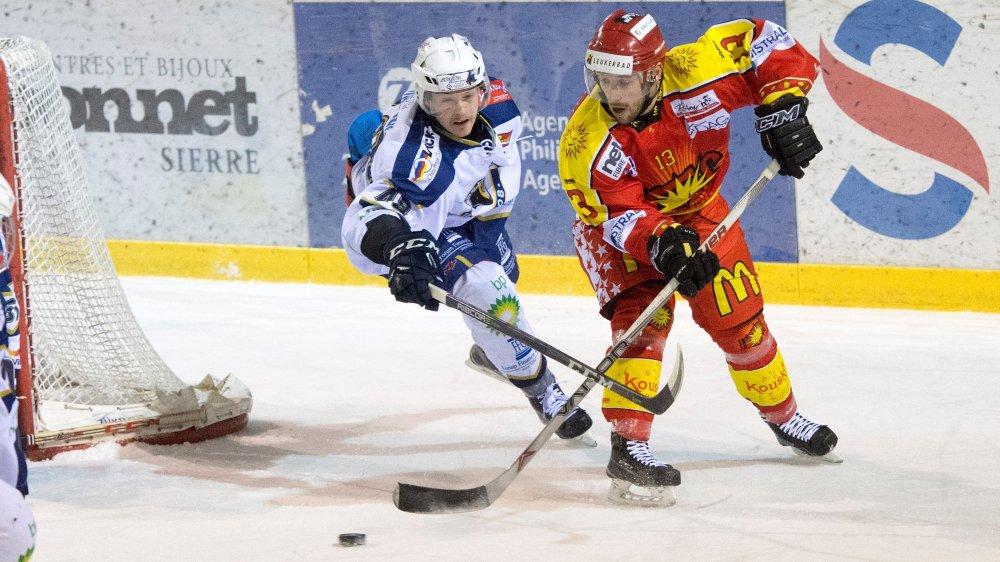 Rémy Rimann reste l'une des forces offensives du HC Sierre.