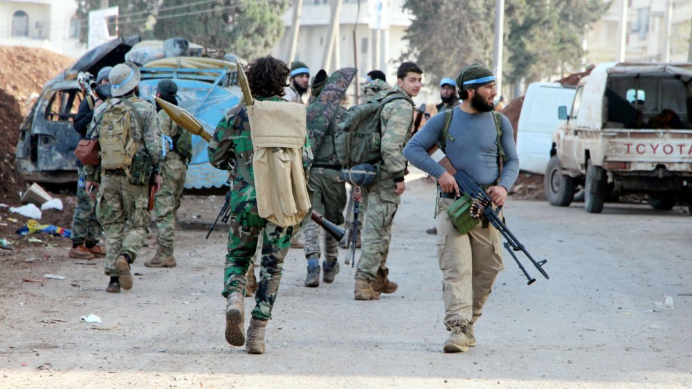 L'armée turque, avec l'Armée syrienne libre, a délogé les milices kurdes d'Afrine, dimanche.