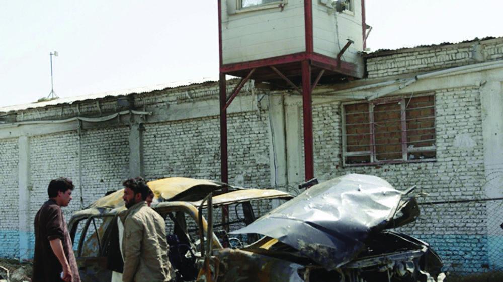 Un attentat-suicide a frappé Kaboul, hier.