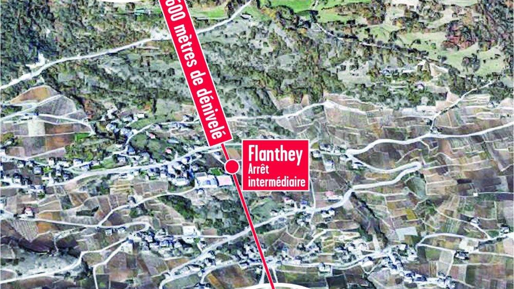 Un dénivelé de 600 mètres, un coût de 7-8 millions, le projet est déjà plutôt précis.