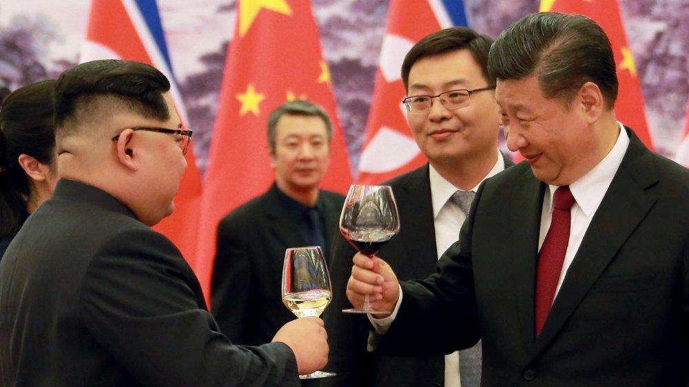 Kim Jong-un et Xi Jinping ont effectué un spectaculaire rapprochement.