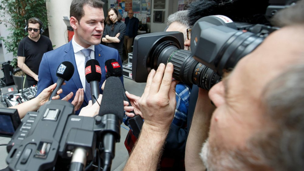 Le PLR Pierre Maudet a été réélu, hier, lors du premier tour des élections au Conseil d'Etat genevois.