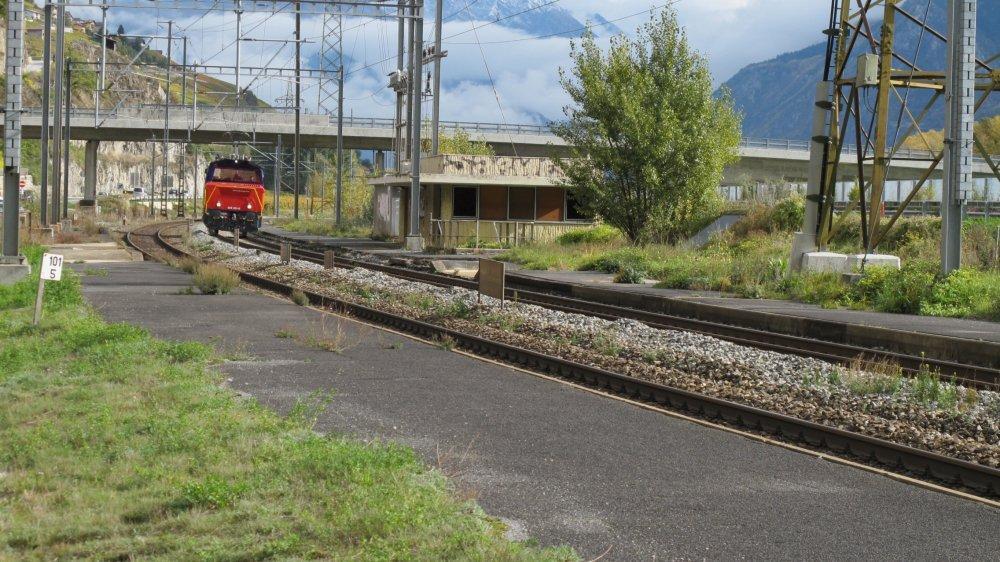 La gare de Granges sera-t-elle rouverte avec l'arrivée éventuelle d'un téléphérique?