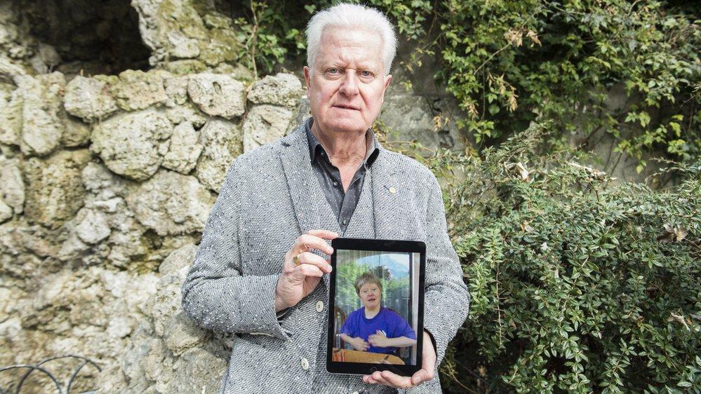 Jean-François Lovey a perdu sa sœur en août dernier. Il raconte sa chance d'avoir pu côtoyer «un être doté uniquement de bonté».