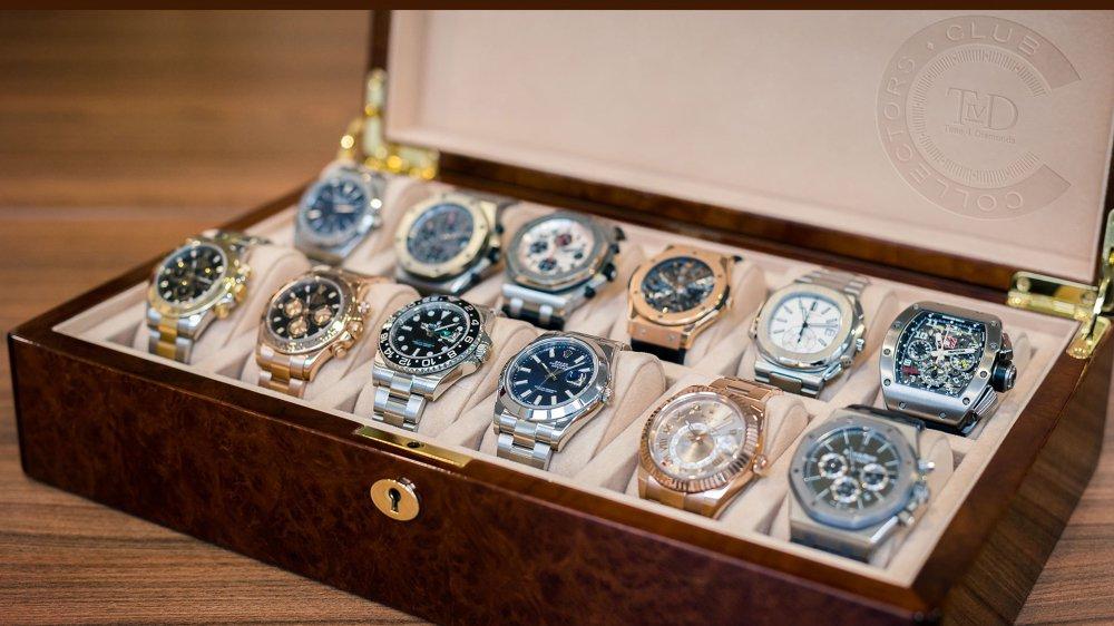De nombreuses montres de luxe ont été volées. Une véritable collection. On parle d'un million de francs. image d'illustration