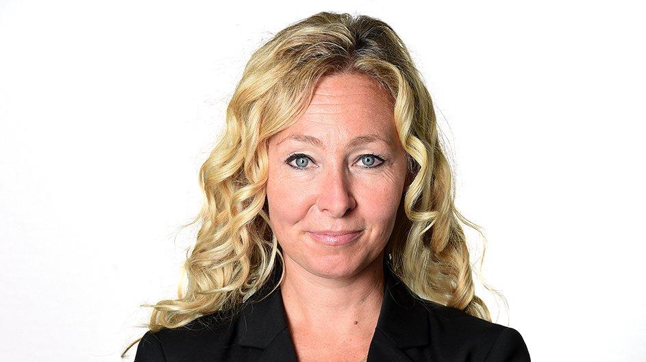 """Sandra Jean, directrice des éditions """"Le Nouvelliste""""."""