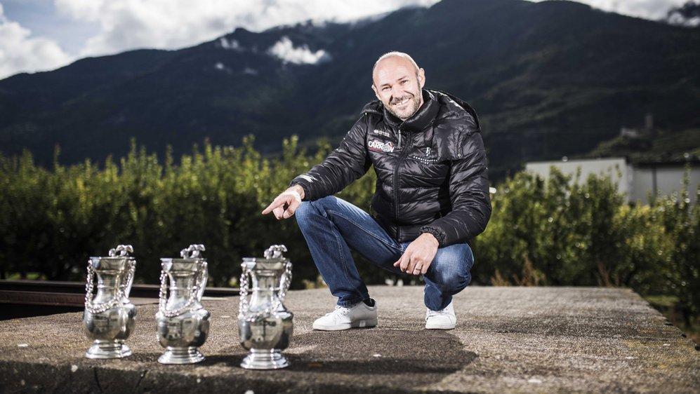 Sébastien Carron peut tirer sa révérence l'esprit tranquille. Triple champion de Suisse, il n'espérait pas autant de succès.