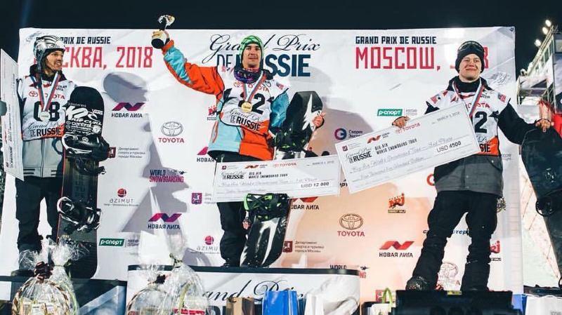 Carlos Gerber (à g.) retrouve le podium pour la première fois depuis trois ans.