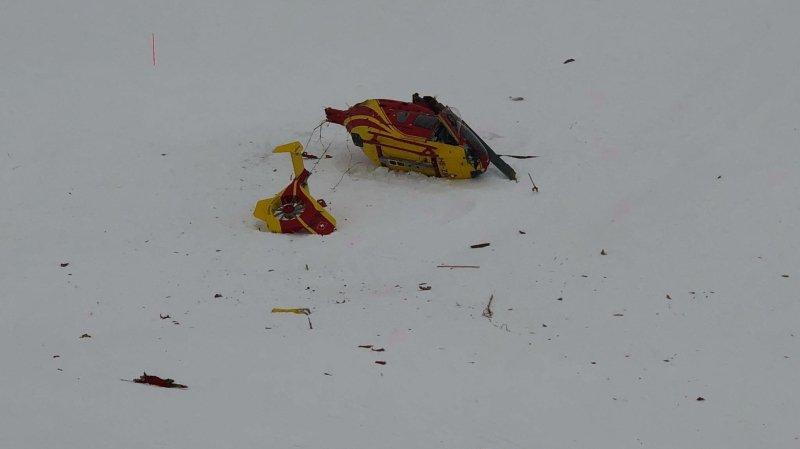 Accident d'hélicoptère au Grand-Saint-Bernard: Air-Glaciers accuse le coup mais reste positif
