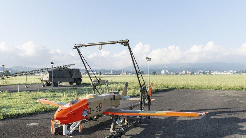 C'est un drone de ce type qui s'est écrasé au sol ce mardi.