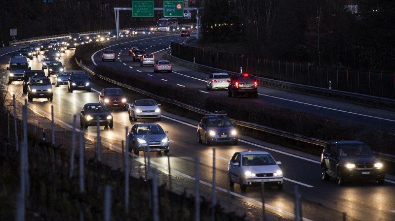 La vitesse sera limitée à 100 km/h sur l'autoroute A9 qui contourne Lausanne