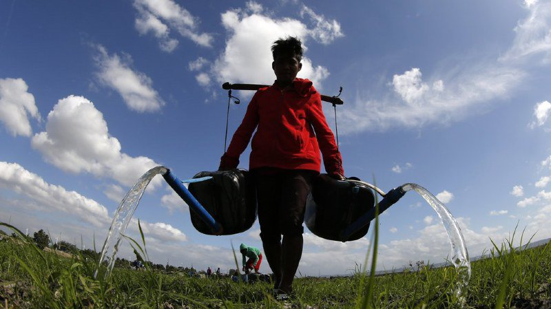 "143 millions de ""migrants climatiques"" potentiels d'ici 2050"